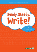 Ready Steady Write - Pre-Cursive 1