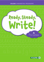 Ready Steady Write - Pre-Cursive A Set