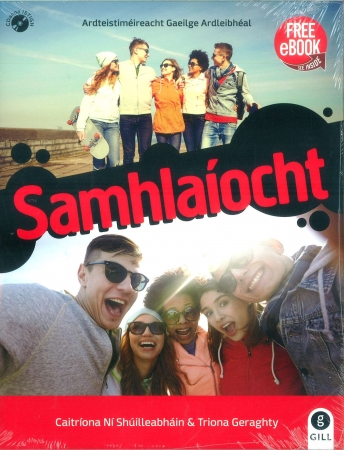 Samhlaíocht Pack - Textbook & Workbook - Leaving Certificate Irish Higher Level - Includes Free eBook