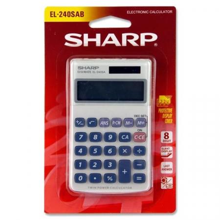 Sharp Primary Calculator EL-240SAB