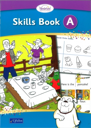 Skills Book A - Wonderland Stage One - Junior Infants