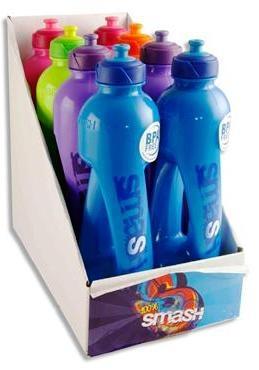 Drinks Bottle 500ml - Twister Bottle - Assorted Colours