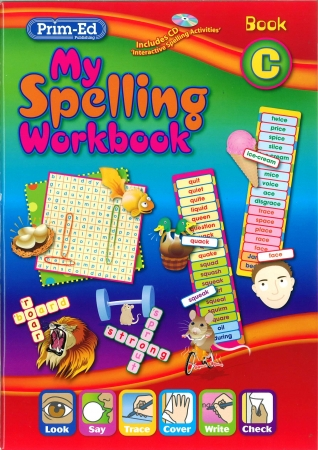 My Spelling Workbook C - New Edition - Second Class