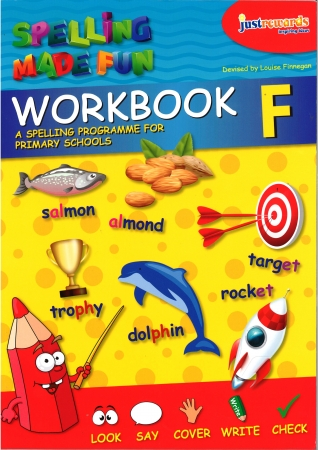 Just Reward - Spelling Made Fun Workbook F - Fifth Class