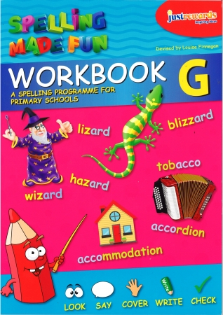 Just Rewards - Spelling Made Fun Workbook G - Sixth Class