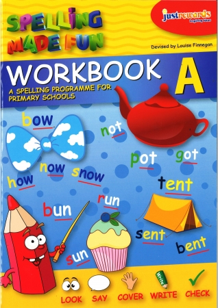 Just Rewards - Spelling Made Fun Workbook A - Senior Infants