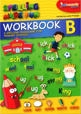 Just Rewards - Spelling Made Fun Workbook B - First Class