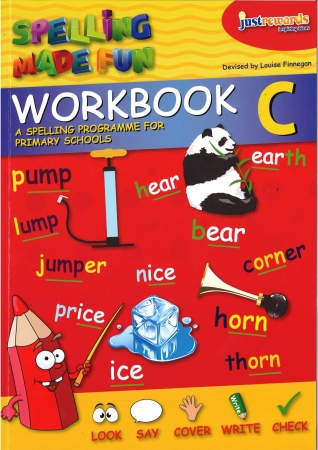 Just Rewards - Spelling Made Fun Workbook C - Second Class