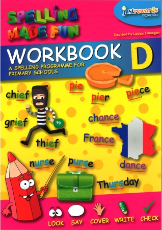 Just Rewards - Spelling Made Fun Workbook D - Third Class