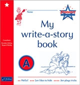 My Write A Story Book A - Starways Stage One - Junior & Senior Infants