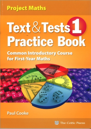 Text & Tests 1 Practice Book - Common Introductory Course For First Year Maths