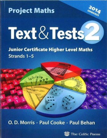 Text & Tests 2 - Project Maths Junior Certificate Higher Level - Strands 1-5 - Includes Free eBook