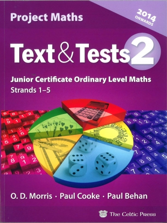 Text & Tests 2 - Project Maths Junior Certificate Ordinary Level - Strands 1-5 - Includes Free eBook