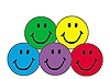 Stickers Colourful Smiles