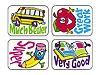 Applause Stickers School Fun 100's