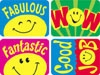 Applause Stickers Smiley Faces 100's