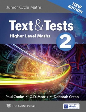 Text & Tests 2 - Higher Level Maths - 2019 Edition - Includes Free eBook