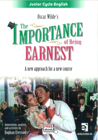 The Importance of Being Earnest Pack - Textbook & Student Portfolio Workbook - Junior Cycle English - Includes Free eBook