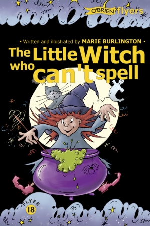 The Little Witch Who Can't Spell
