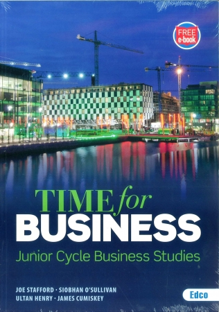 Time For Business Pack - Junior Cycle Business Studies - Textbook & Student Activity Book