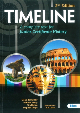 Timeline - A Complete Text For Junior Certificate History - 2nd Edition - Includes Free eBook