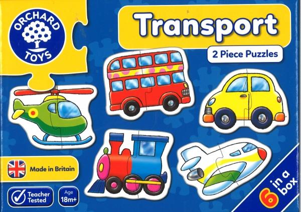Transport jigsaws