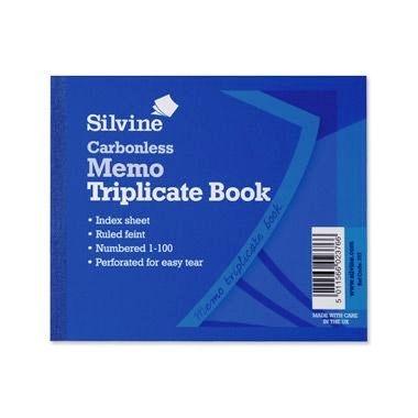 """Triplicate Book 5""""x3"""" Memo - Carbon Paper"""