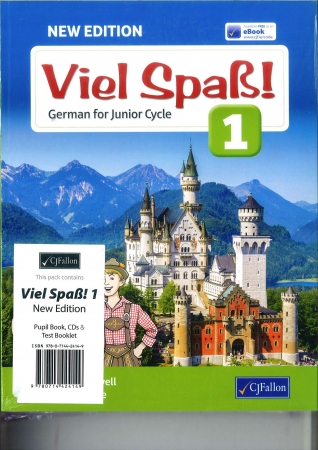Viel Spaß 1 Pack - Textbook & Text Booklet - 2nd Edition - Junior Cycle German - Includes Free eBook