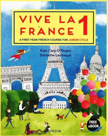 Vive La France 1 - Pack Textbook & Portfolio - Junior Cycle French - Free eBook Included