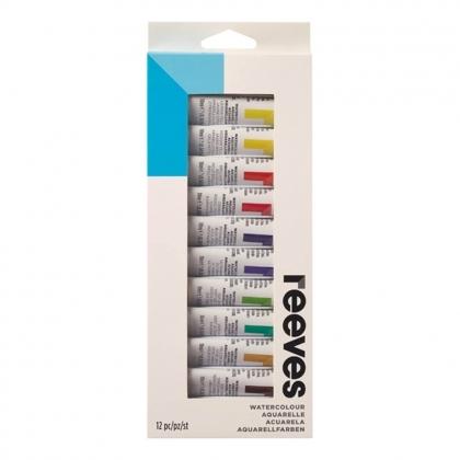 Watercolour paint set 12 tubes