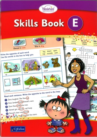 Skills Book E - Wonderland Stage Two - First Class