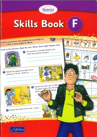 Skills Book F - Wonderland Stage Two - First Class