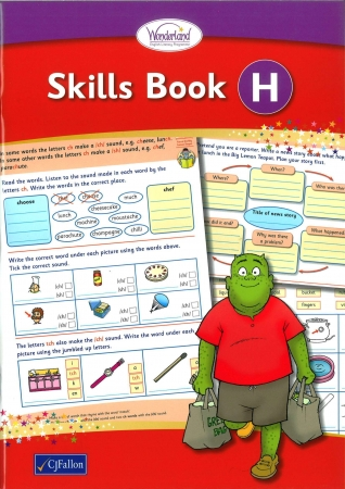 Skills Book H - Wonderland Stage Two - Second Class