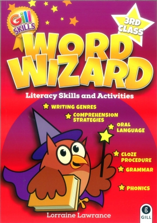 Word Wizard 3 - Literacy Skills & Activities - Third Class