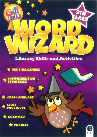 Word Wizard 5 - Literacy Skills & Activities - Fifth Class
