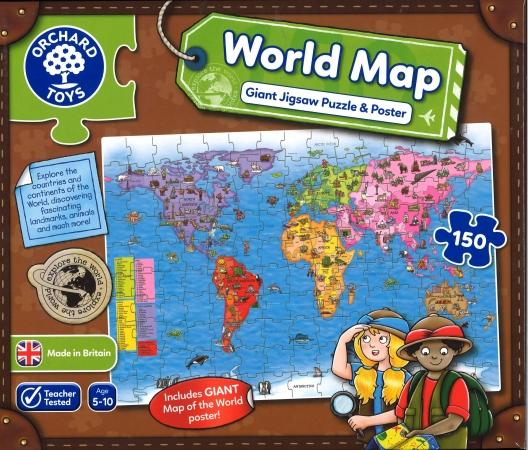 World Map Jigsaw