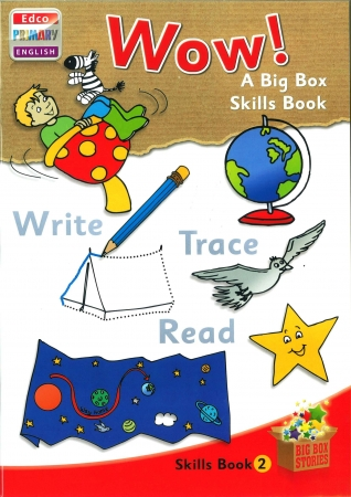 Wow! - Skills Book 2 - Big Box Adventures - Junior Infants