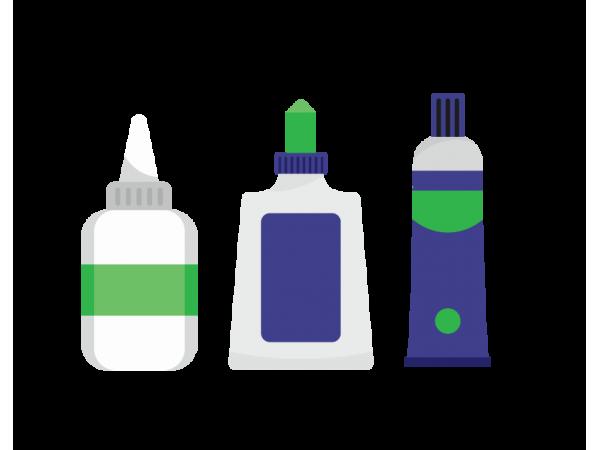 Adhesives & Corrections