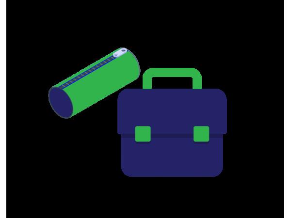 Pencil Cases & School Bags