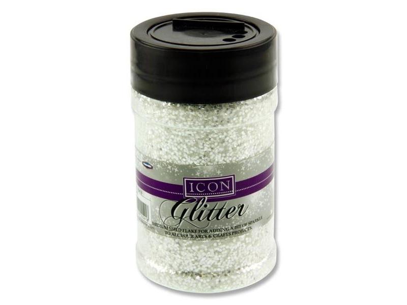 Glitter 110g - White