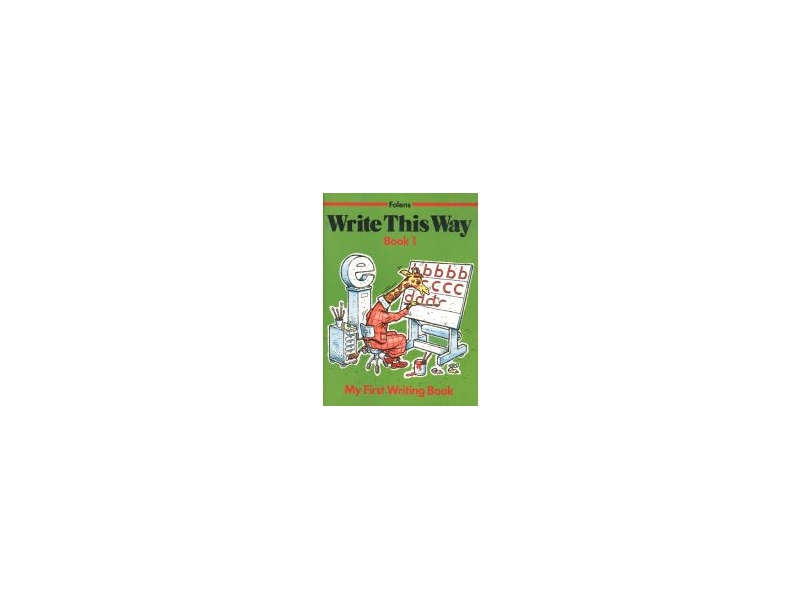 Write This Way 1 - Junior Infants