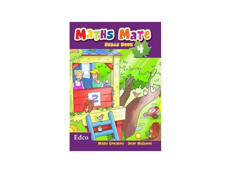 Maths Mate Skills Book 4 - Fourth Class