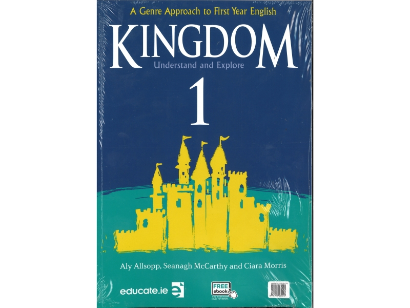 Kingdom 1 - Pack Textbook & Portfolio Junior Cycle English