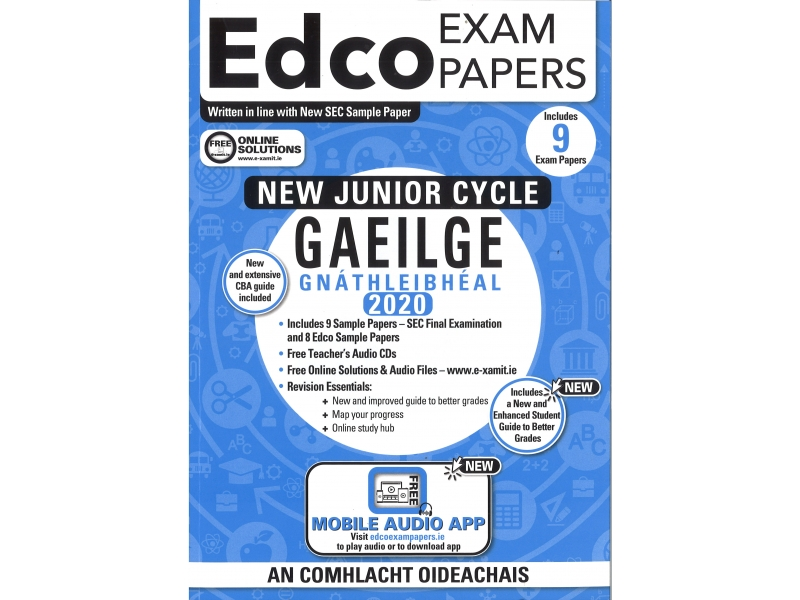 Junior Cycle Gaeilge Ordinary Level - Includes 2020 Exam Papers
