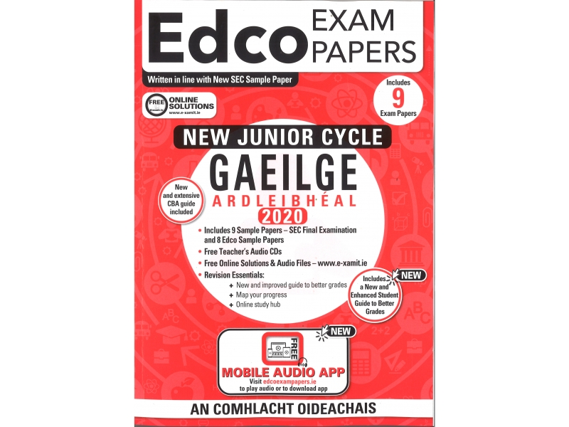 Junior Cycle Gaeilge Higher Level - Includes 2020 Exam Papers