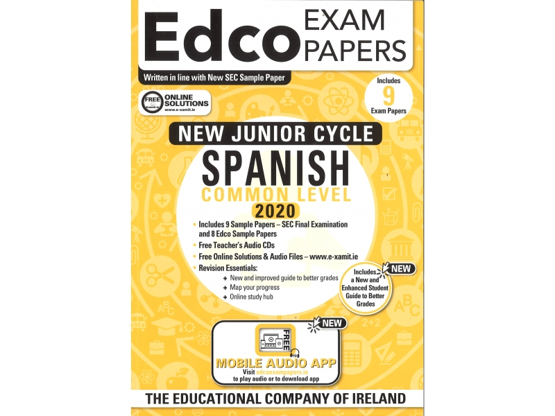 Junior Cycle Spanish Common Level - Includes 2020 Exam Papers