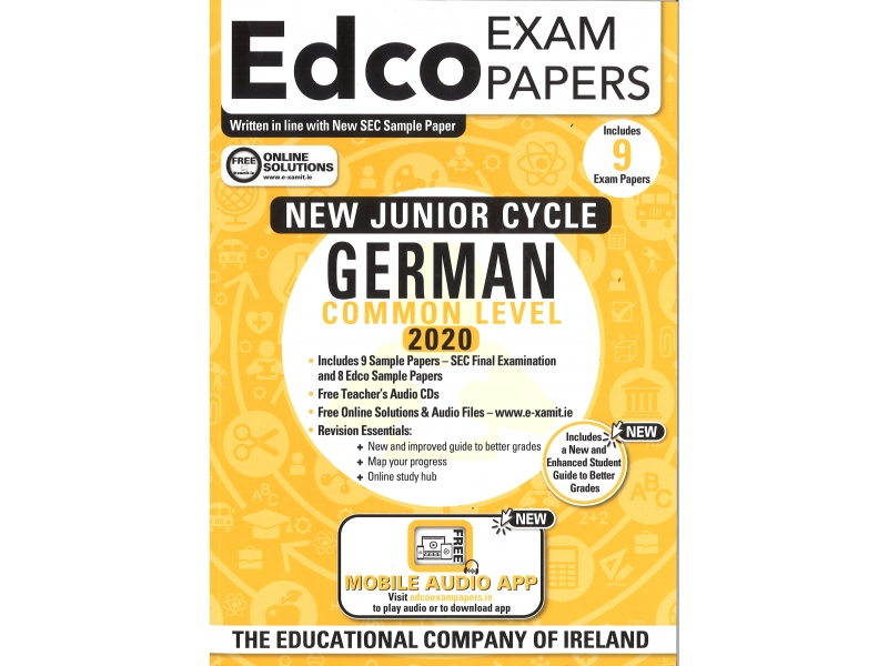 Junior Cycle German Common Level - Includes 2020 Exam Papers