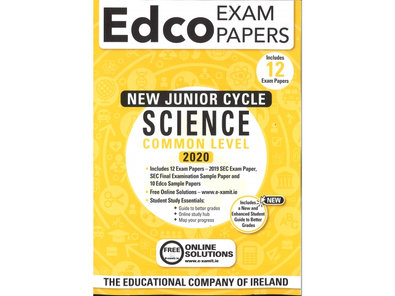 Junior Cycle Science Common Level - Includes 2020 Exam Papers