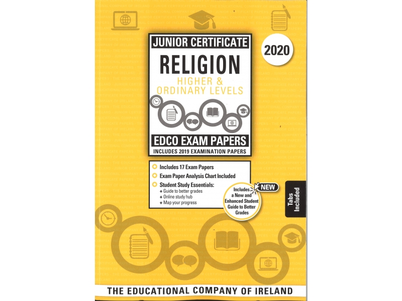 Junior Cert Religion Higher & Ordinary Levels - Includes 2020 Exam Papers