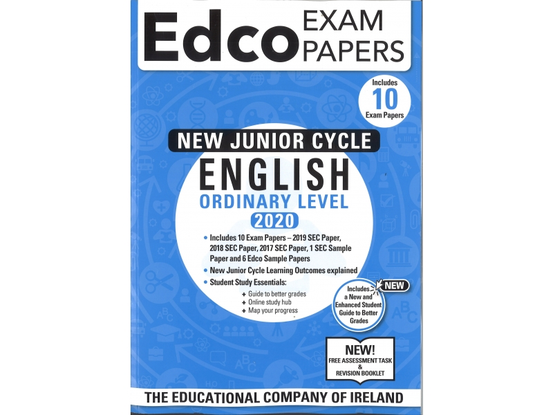 Junior Cycle English Ordinary Level - Includes 2020 Exam Papers